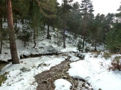 Siete Picos - Valle la Fuenfría; bola del mundo madrid; mochilas trekking